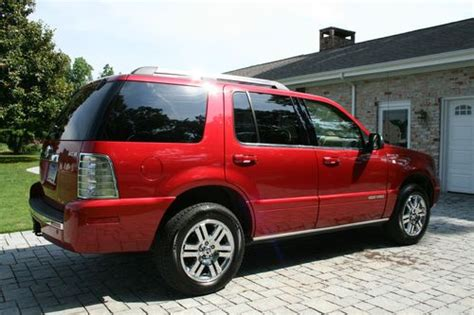 how petrol cars work 2008 mercury mountaineer on board diagnostic system find used 2008 mercury mountaineer premier awd v8 in west point virginia united states for us