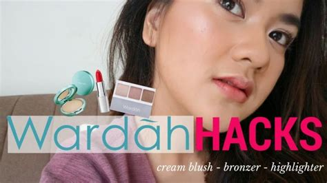 List Makeup Wardah 5 hacks wardah ala vlogger yang gang di aplikasikan