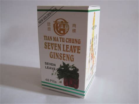Seven Leave Ginseng Asli herbal china obat herbal asam urat