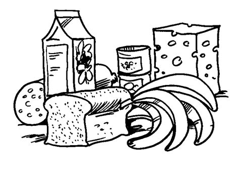 coloring pages free food free printable food coloring pages for