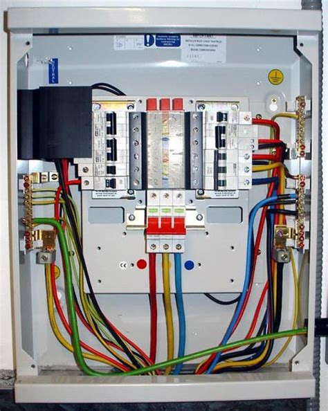Electric Board Connection Electrical Engineering Distribution Boards