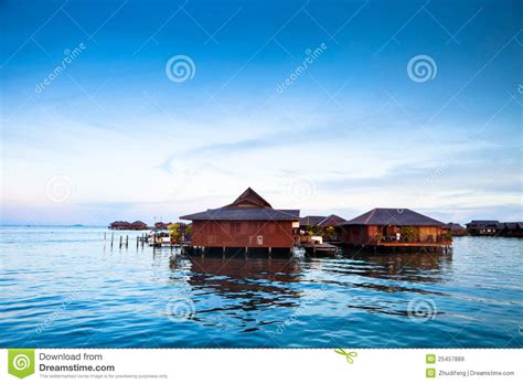 house over water house over water at coastline royalty free stock images