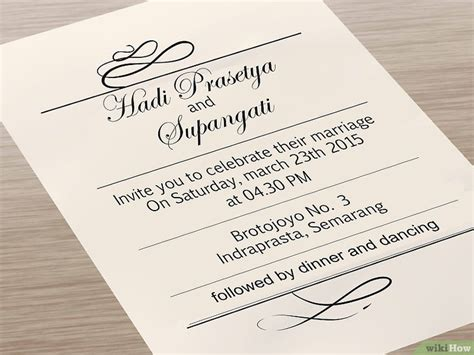 Wedding Invitations To Print 5 formas de imprimir tus propias invitaciones de boda