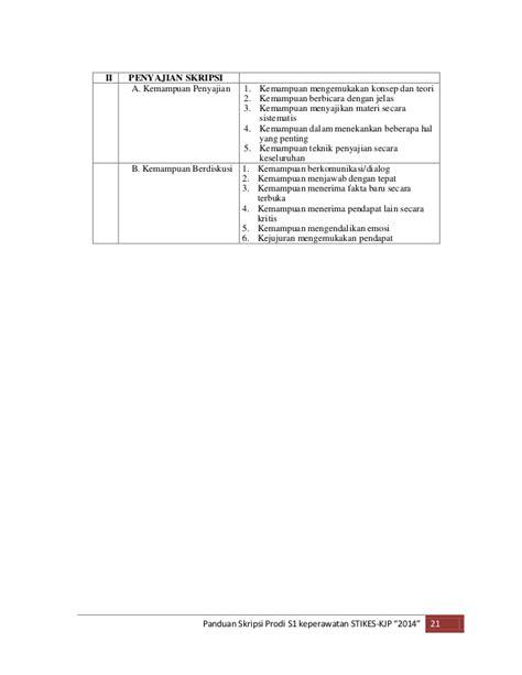 panduan membuat opini panduan skripsi kjp 2014 2