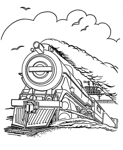colour my sketchbook steam steam locomotive modern history coloring book coloring colors and coloring pages