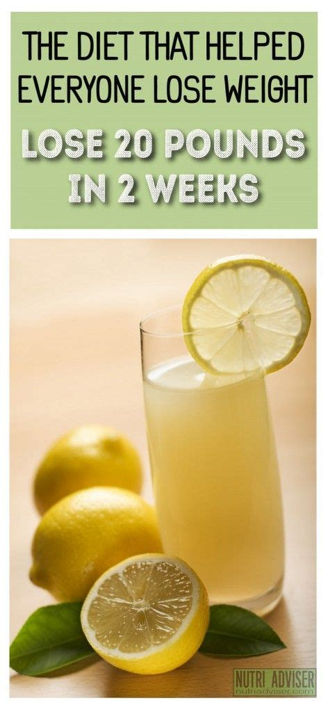 Bee Clean Detox Drink by The Diet That Helped Everyone Lose Weight 20 Pounds Less