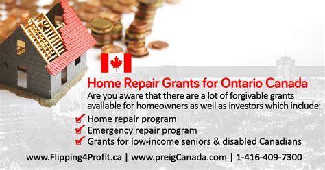 ontario home repair grants flipping4profit ca