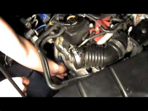 Changing Spark Plugs On A Subaru Youtube