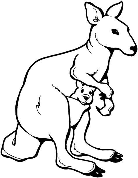 australian animal template animal templates free