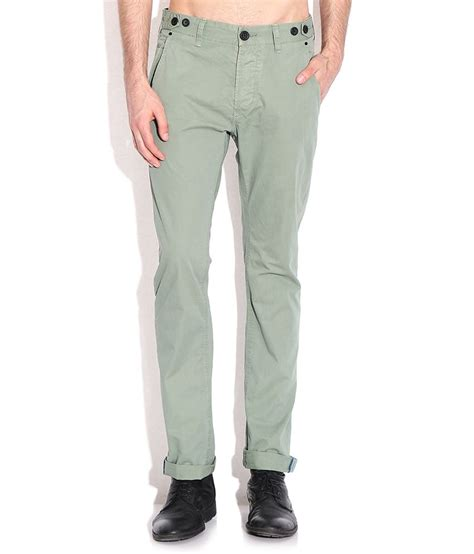 comfort fit chinos breakbounce green comfort fit chino trousers buy