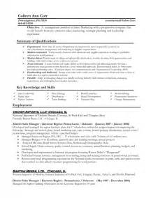 Resume Exles For Managers Position by Exles Of Resumes For Management Sles Of Resumes