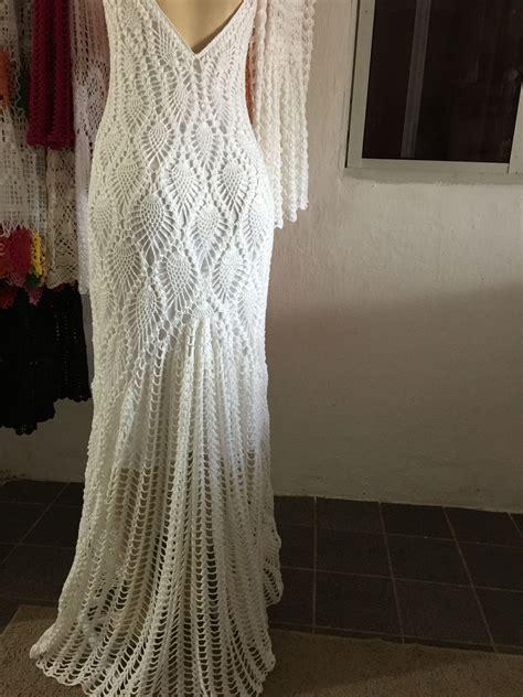 hochzeitskleid häkeln pin von diyana ivanova auf fashion crochet knit