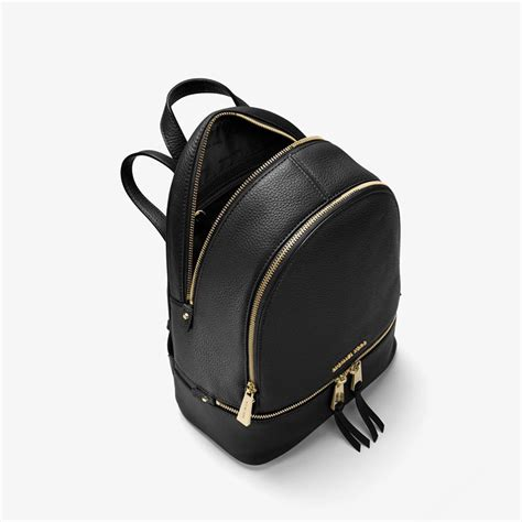 Tas Ransel Michael Kors Mk Rhea Mini Backpack Original michael michael kors rhea leather backpack black