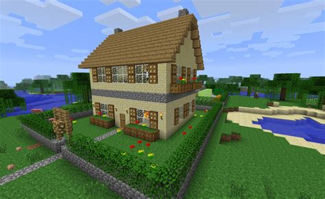 Cottage Minecraft by Seven Square Cottage Minecraft Project