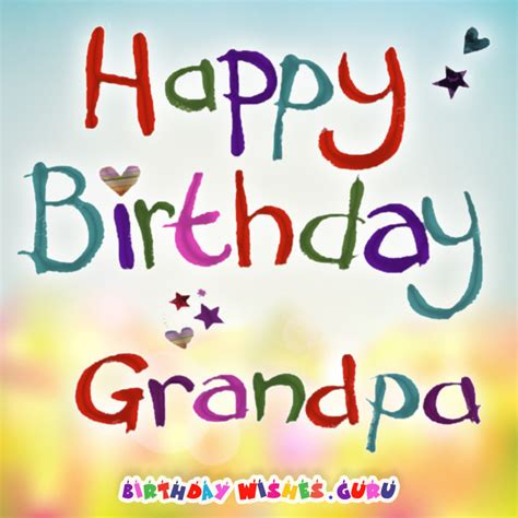 Happy Birthday Wishes For The Best Happy Birthday Wishes For The Best Grandpa