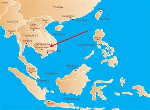 Where Is Where Is Cambodia World Of Map