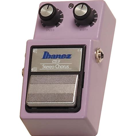 Ibanez Cs Chorus Mini Pedal Effect ibanez cs9 stereo chorus reissue musician s friend