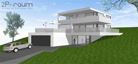 h ck architektur moderne h 228 user bilder bauhaus villa am hang homify