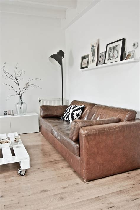 beautiful brown leather sofas