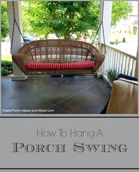 how to hang a swing bed 25 best ideas about porch swing beds on pinterest swing