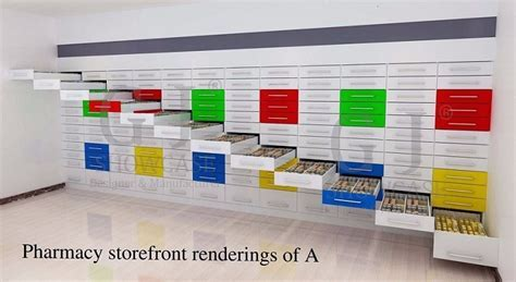 Cozy Fully Filing Cabinet Hospital Pharmacy Storage Kiosk