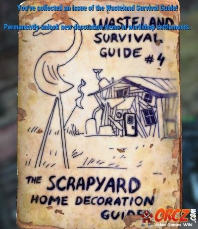 home decor magazines fallout 4 fallout 4 wasteland survival guide orcz com the video