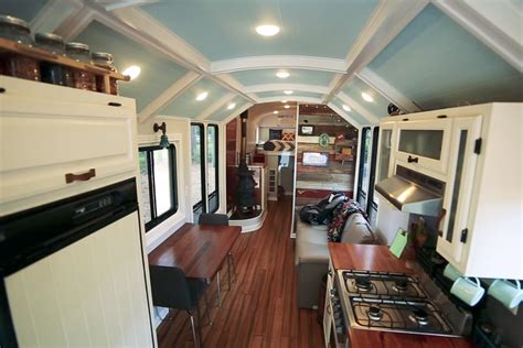 bus house for sale this school bus conversion may be the most impressive one yet curbed