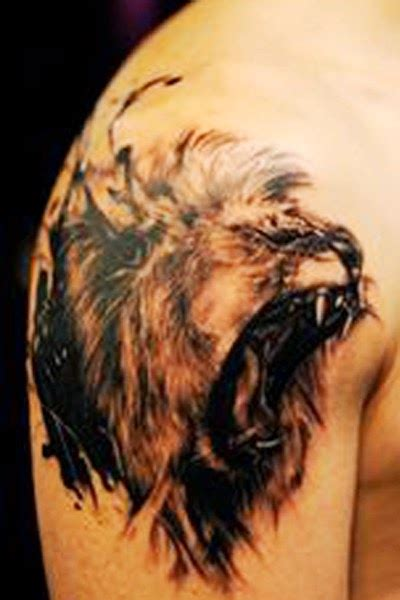 quarter sleeve lion tattoo lion tattoos on sleeve part 2 tattoo designs picture