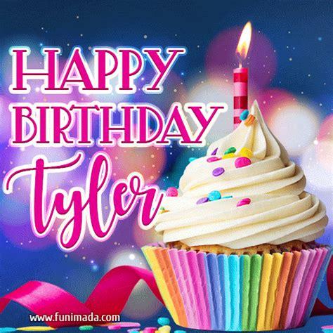 happy birthday tyler lovely animated gif   funimadacom