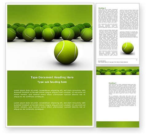 tennis templates free tennis balls word template 04296 poweredtemplate