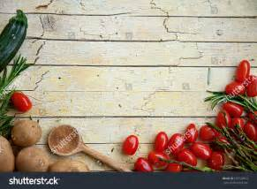 Show Me Kitchen Designs Fresh Organic Vegetables Food Background Healthy Stock