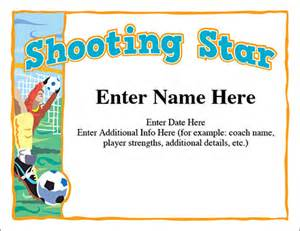 shooting certificate templates shooting soccer certificate free award certificates