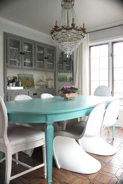 miami shabby chic dining room contemporary with six person 40 best dining room furniture paint ideas images on