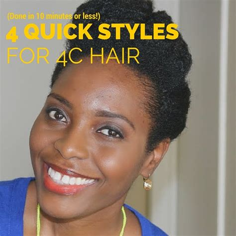 Hairstyles For 4c Hair For by 4 Hairstyles For 4c Hair