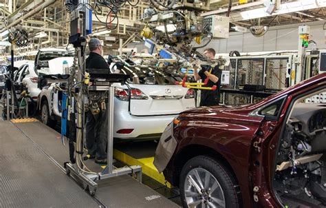 Toyota Motor Manufacturing Canada Toyota Plant In Canada Is J D Power And Associates