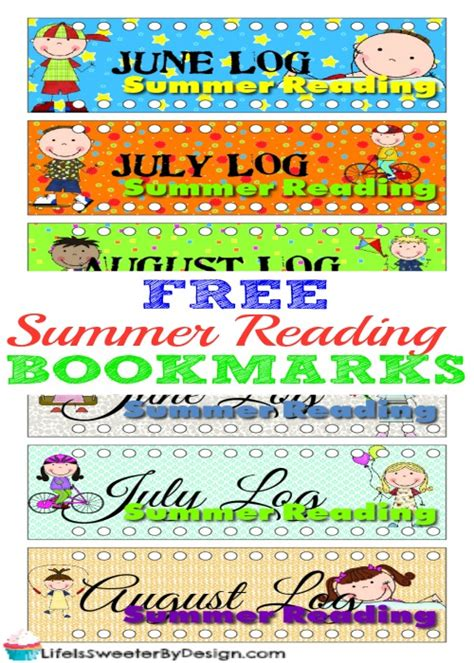 printable summer reading bookmarks free printable summer reading bookmarks for kids money