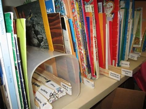 space saving solution for classroom library book storage teach junkie