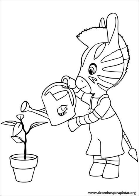 dibujos para pintar zou la cebra zou juega con un coche zou a zebra da disney desenhos para imprimir colorir e
