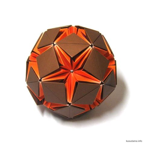 Origami Sphere - 25 best ideas about origami on paper