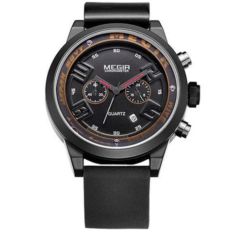 Megir Ms3006g Jam Tangan Analog megir black eagle jam tangan analog mn2001g black jakartanotebook