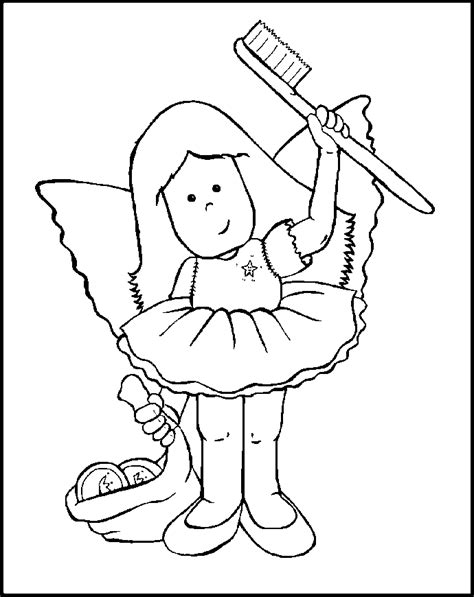 coloring page tooth fairy tooth fairy coloring page coloring home
