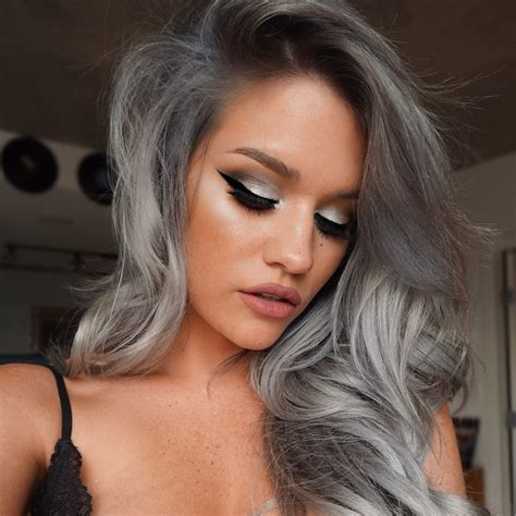 how to bring out gray in hair majestic ways to make grey hair stand out nature2tech