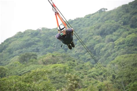 theme line zip flying on the fastest mexico zip line 60mph with