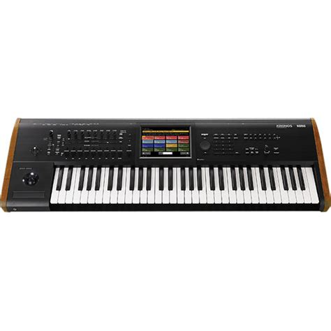 Update Keyboard Korg korg kronos 61 workstation with sgx 2 engine kronos6 b h