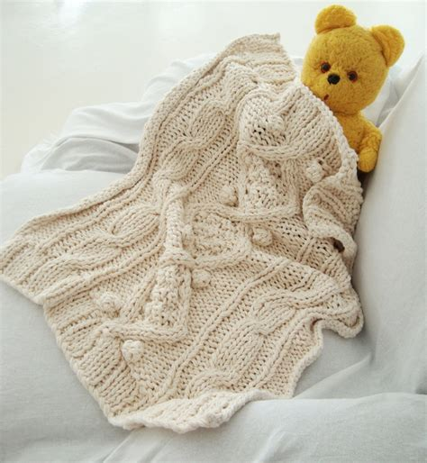 chunky cable knit blanket pattern knitting pattern for cotton chunky cable knit baby blanket