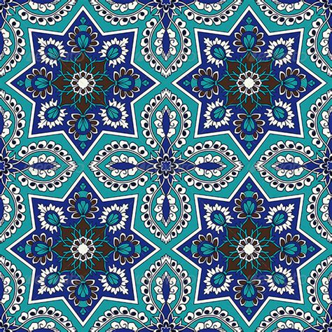 arabesque pattern carpet arabesque seamless pattern in blue and turquoise
