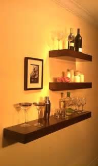 floating wooden wall shelves floating wood shelves wall shelf walnut color 48 by mrselecta