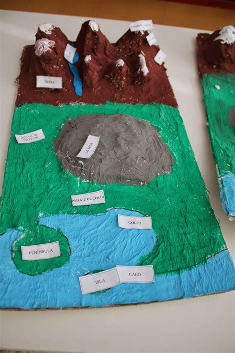 trabajo de maquetas de costas maquetas escolares relieve entra y qu 233 date proyecto de ciencias maqueta de los