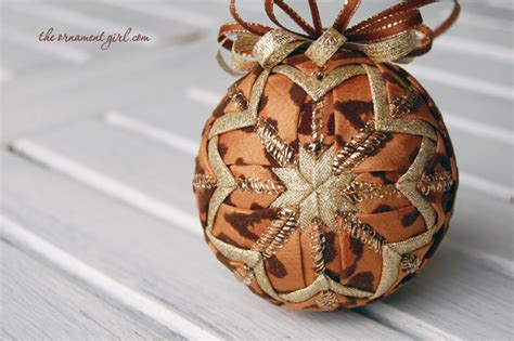 leopard print and tiger striped christmas ornaments