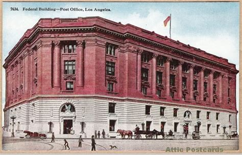 federal building post office los angeles ca h h t co